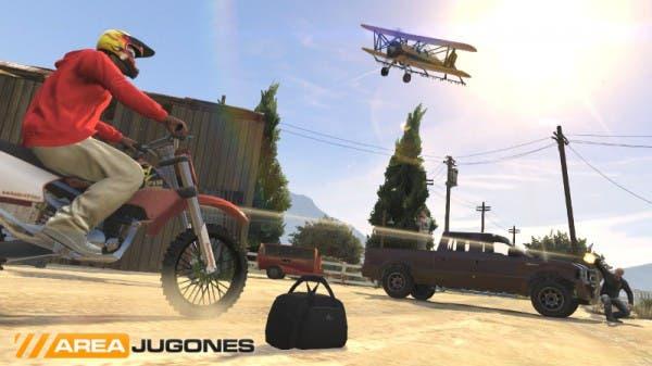 Captura de una partida de Capturar la Bolsa. Las ofensivas en vehículos de asalto rápidos, como motos y quads, serán importantes.