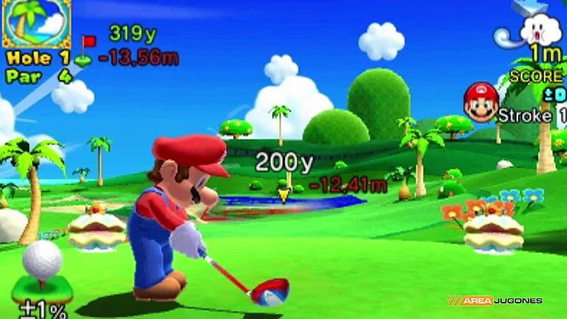 Mario golf 2