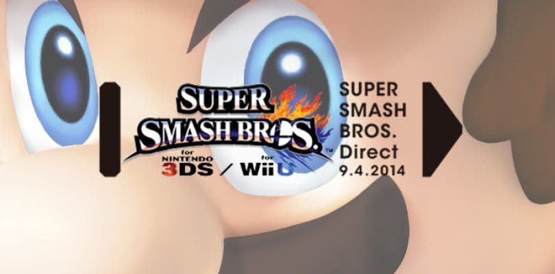 Super Smash Bros. Direct el próximo 9 de abril
