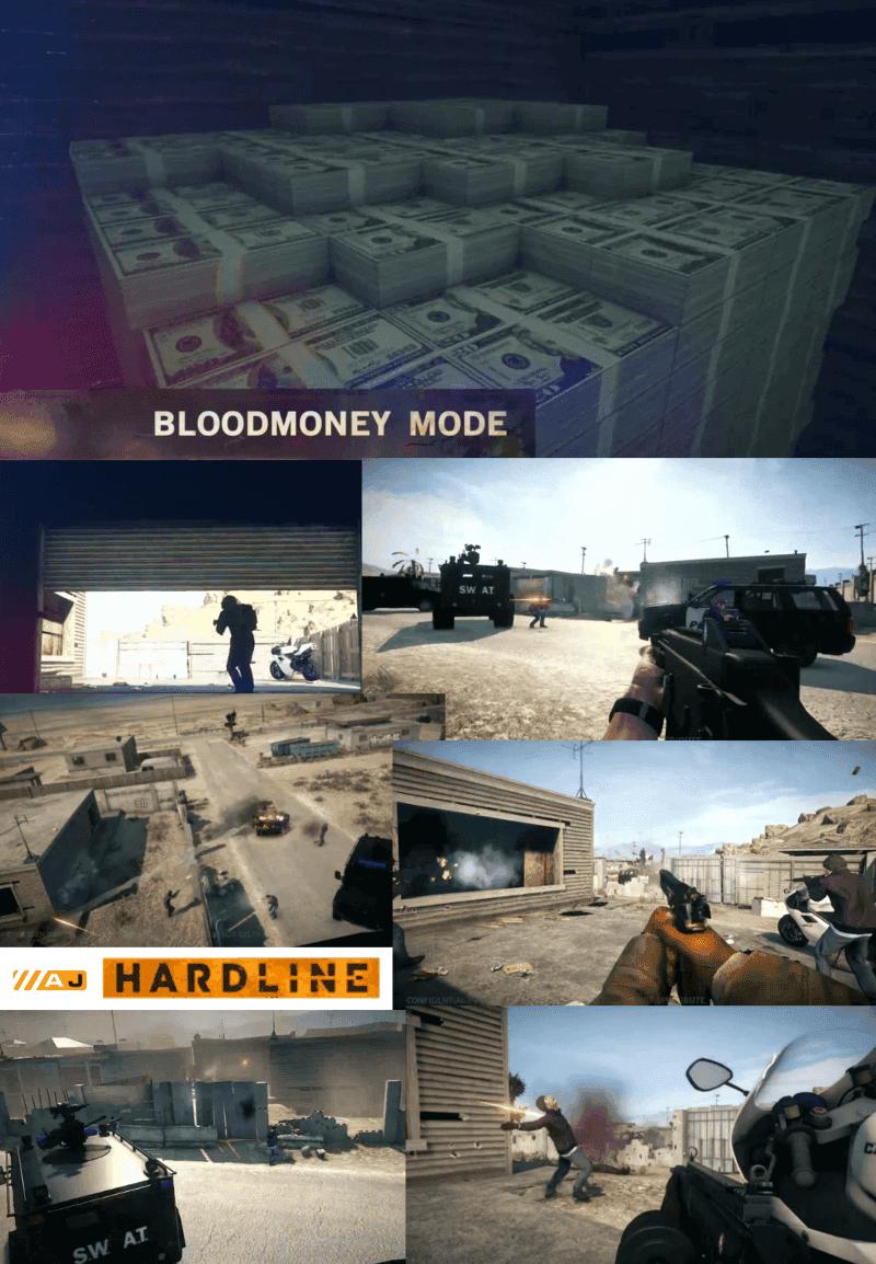 Capturas del modo Bloodmoney (capturar la bolsa)