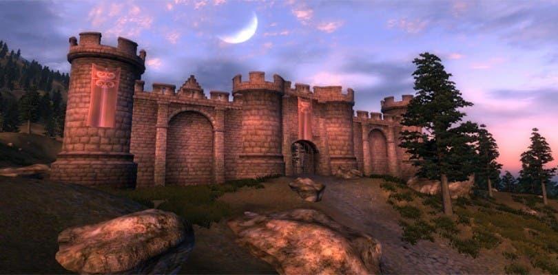 Así podría haber sido la versión cancelada de Oblivion en PSP