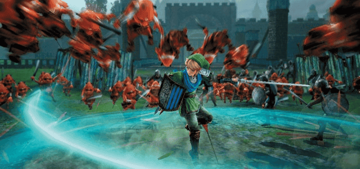 hyrule warriors spin