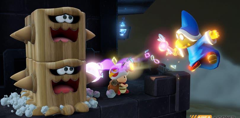 Nuevo Gameplay de Capitán Toad
