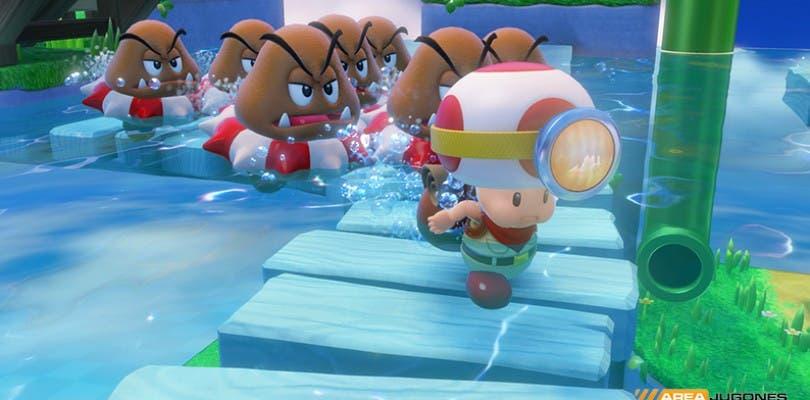 Captain Toad llegará a España una semana antes que al resto de Europa