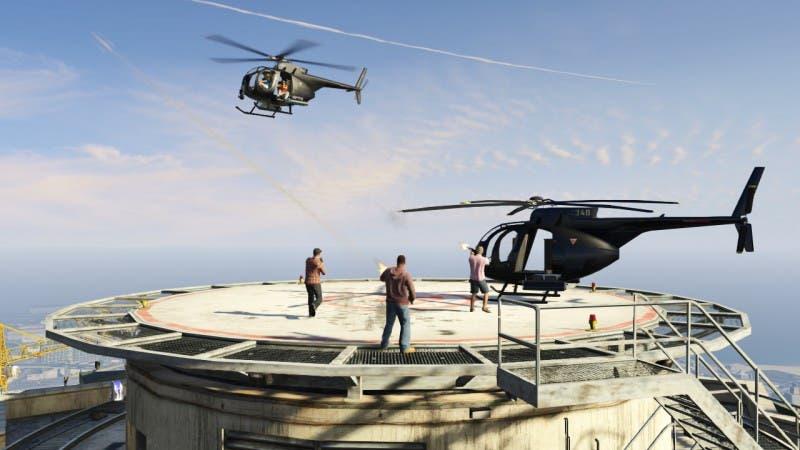 En el mapa Combate en Maze Bank, una auténtica misión de captura tendrá lugar, pudiendo completar el objetivo por aire o tierra