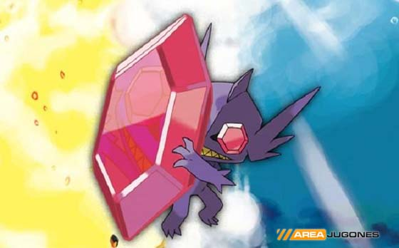 Mega-Evolución de Sableye.