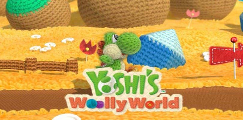 Un nuevo vistazo a los amiibo de Yoshi Woolly World