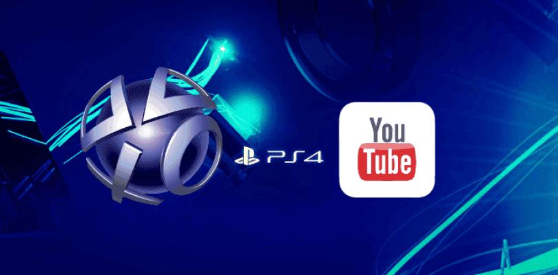 Será posible subir vídeos a Youtube desde PlayStation 4