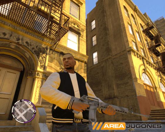 Captura de GTA IV TBoGT con la última versión de iCEnhancer instalada y activada.