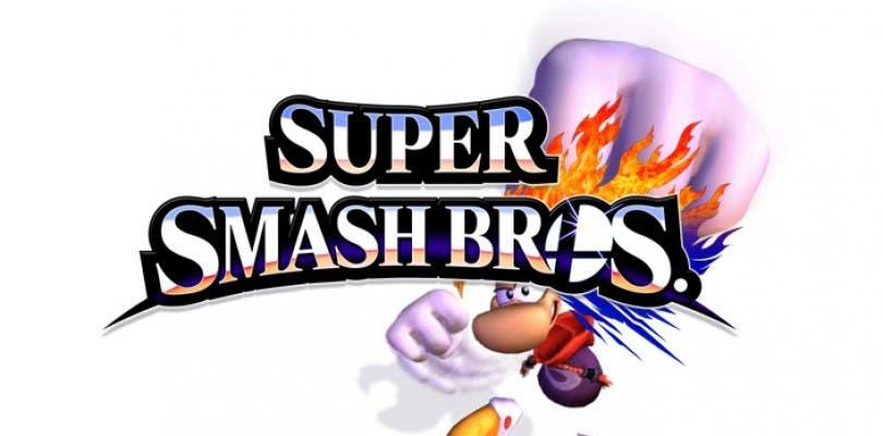 La imágenes de Rayman en Super Smash Bros. eran falsas