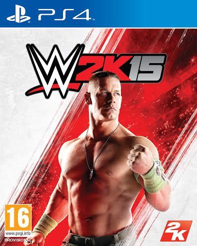 Así será la portada de WWE 2k15, con John Cena centralizando el montaje artístico