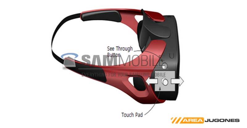Imagen de Gear VR que ha conseguido en exclusiva la web SamMobile.