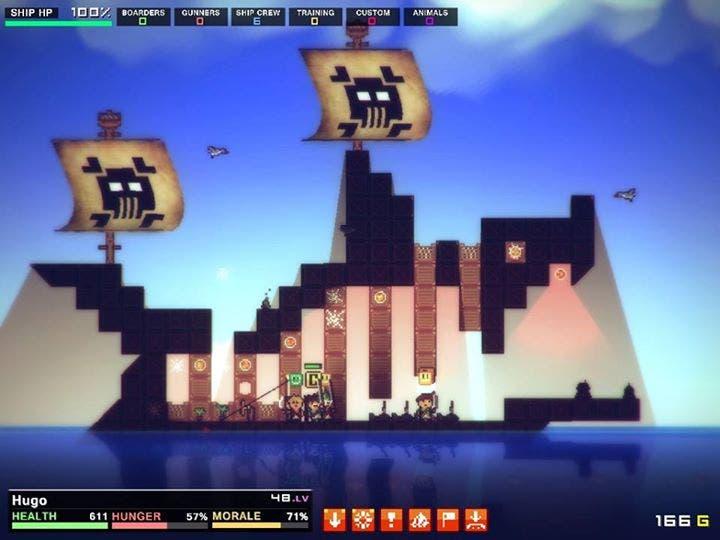 Pixel Piracy: piratas, piratas everywhere