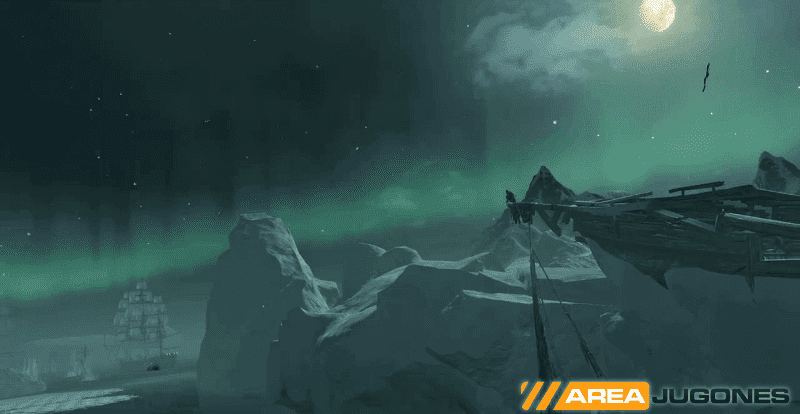 AC Rogue Sincronizacion y paisaje aurora boreal