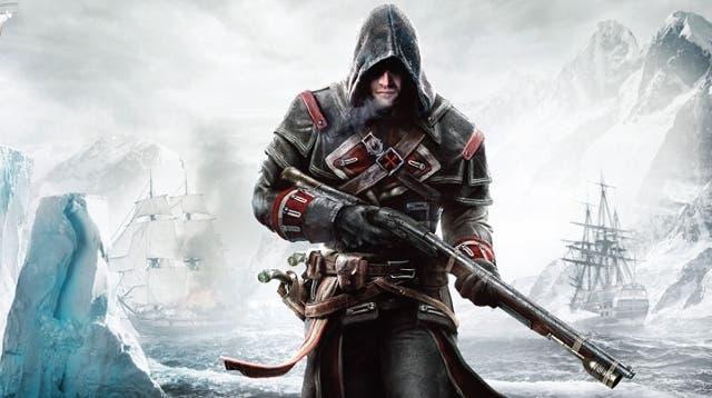 Shay llevará un rifle de aire a la espalda, siempre con él... algo que debería poderse hacer con los mosquetes desde Assassin's Creed III.