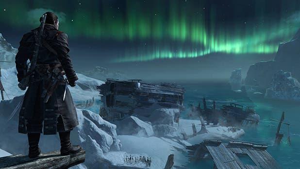 Una localización de Rogue que destacará por novedosa será el Atlántico Norte, explorable por hielo y mar.