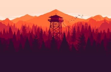 Gameplay de la primera misión de Firewatch