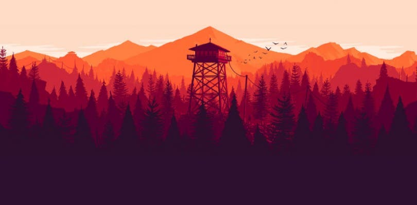 Primer vídeo de Firewatch