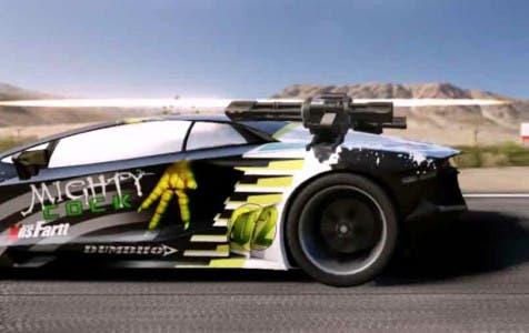"""El juego cuenta con vehículos """"retro"""" y otros tantos competitivos de estilo moderno, como podemos observar en la imagen superior."""