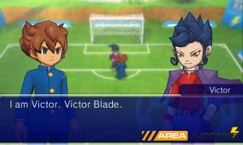 """Arion Sherwind hablando con uno de sus """"compañeros"""", Victor Blade."""