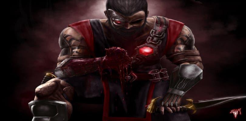 Así reparte estopa Kano en Mortal Kombat X