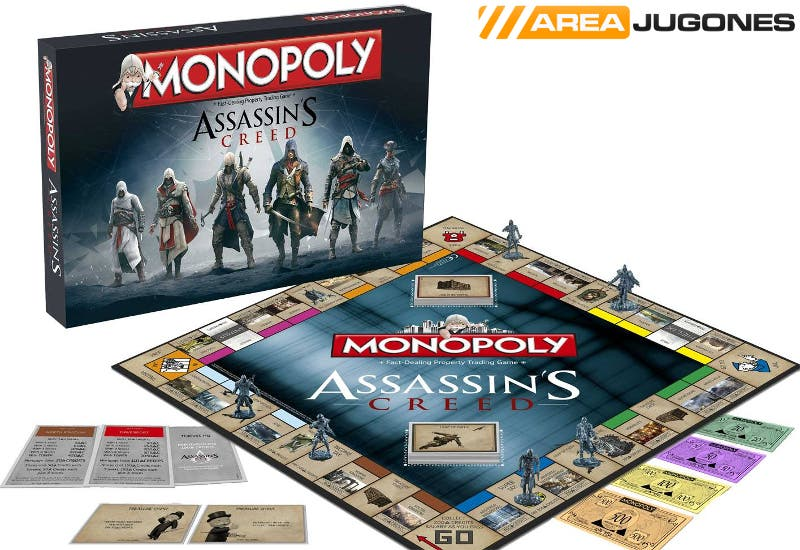 Monopoly Assassin's Creed Areajugones