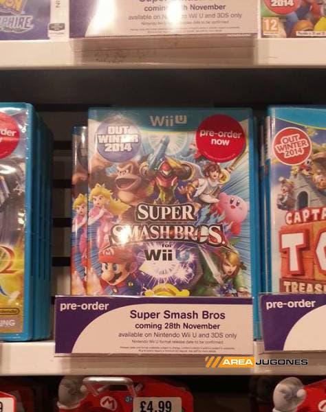 Super Smash Brod lanzamiento