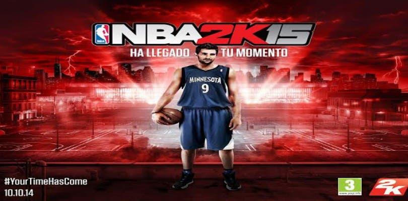 Ricky Rubio promocionará NBA 2K15 en España