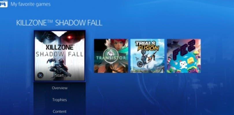 Se filtran imágenes de la nueva interfaz de PlayStation 4