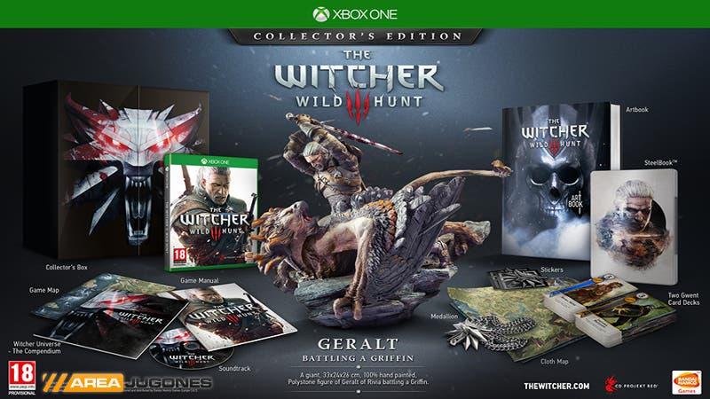 the-witcher-3-edición coleccionista