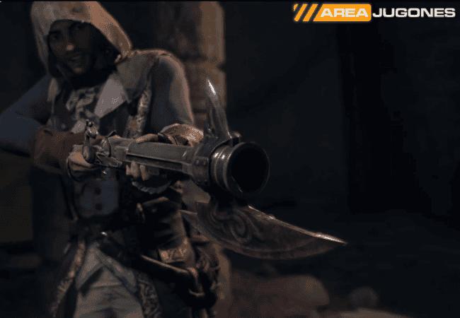 Assassins Creed Unity Dead Kings DLC-Pistola de Guillotina Areajugones