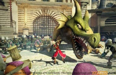 Así luce Dragon Quest Heroes en movimiento