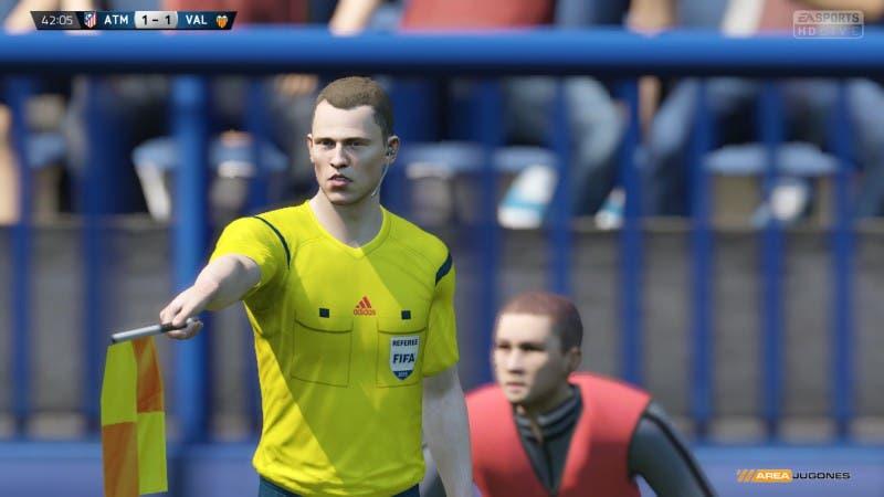 FIFA 15 Temporadas 1-1 ATM - VAL, 1er t.