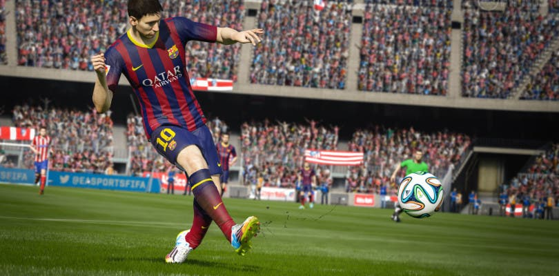 Puedes personalizar tu carátula de FIFA 15 con los colores de tu equipo