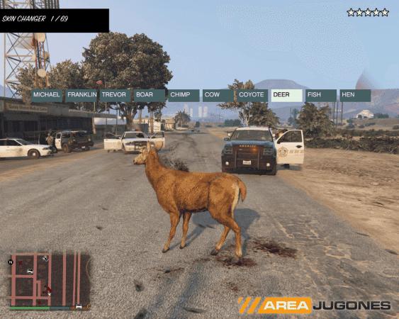 El lanzamiento al público de ScriptHookV abrirá las puertas a un sinfín de nuevas posibilidades en GTA V. Mientras modders crean nuevo material, nos conformamos con el Native Trainer y jugar con animales.