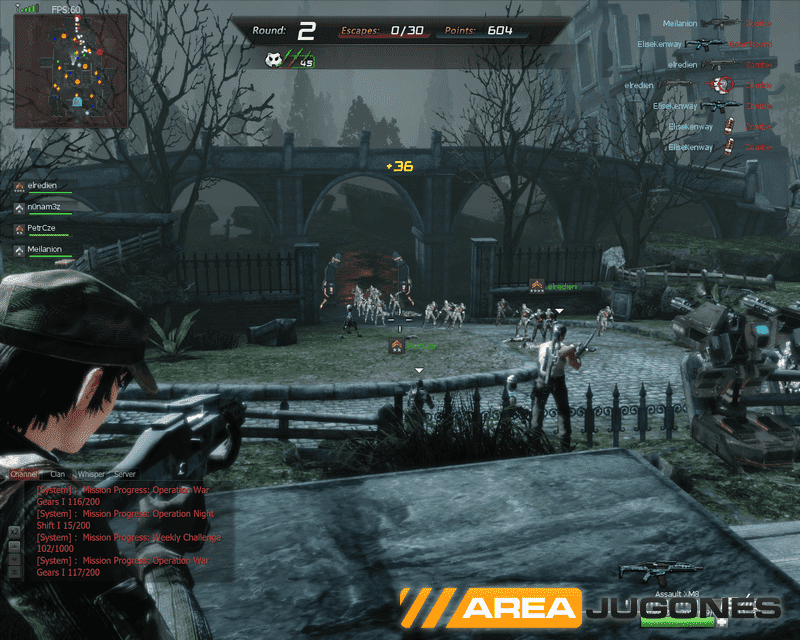 El modo Turret Defense se caracteriza por tener varios portales desde los que salen muchos enemigos en horda, tanto infectados como soldados.