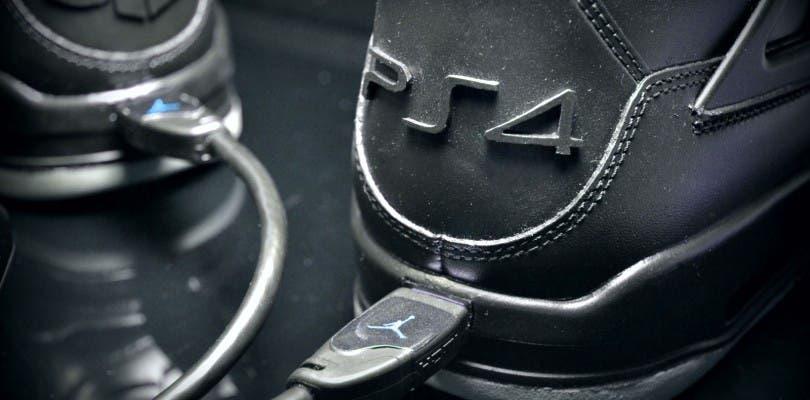 Diseñan unas Air Jordan con motivos de PlayStation 4