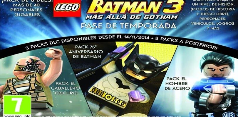 Lego Batman 3: Más Allá de Gotham tendrá pase de temporada