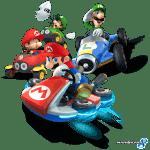Antes y después de Ruta del Lazo de Mario Kart 8