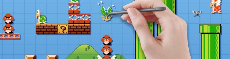 En Mario Maker podremos hacer nuestros propios niveles con un fácil editor