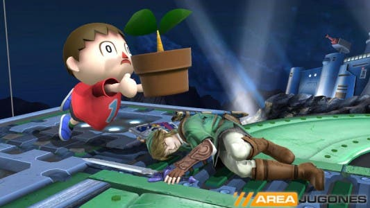 Super Smash bros aldeano