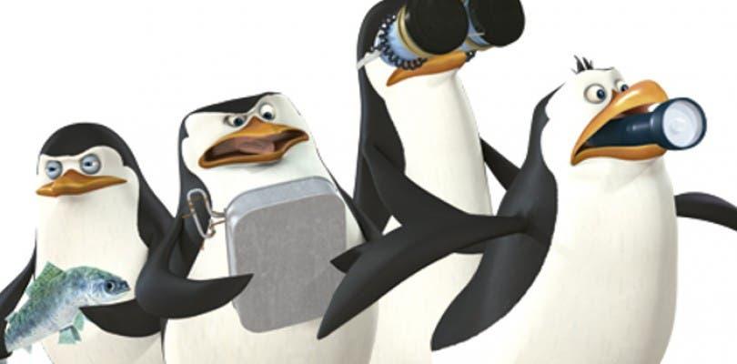 Los Pingüinos de Madagascar salvarán el mundo en Nintendo 3DS, Wii y Wii U