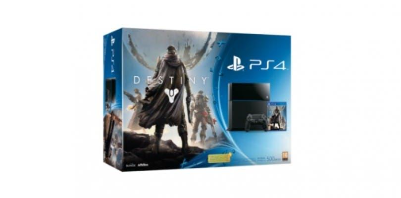 El pack de PlayStation 4 y Destiny saldrá a la venta a un precio estimado de 399€