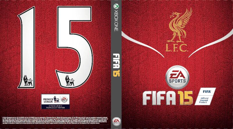 Ejemplo de carátula del Liverpool para Xbox One