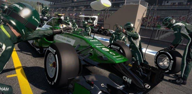 Los monoplazas calientan motores en las nuevas imágenes de F1 2014 y trailer del circuito de Singapur