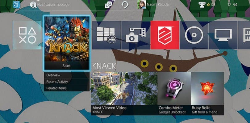 Así lucirá la actualización 2.0 de PlayStation 4