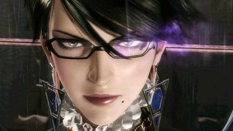Bayonetta 2 Girl Face Wallpaper