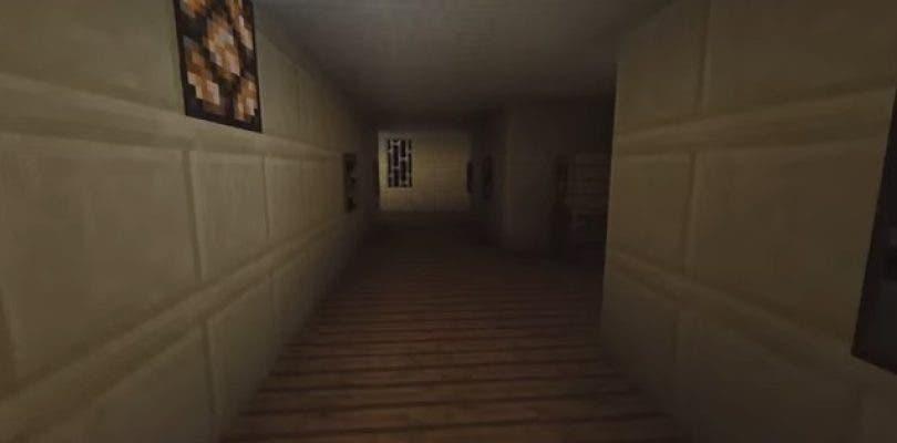 El teaser jugable Silent Hills P.T. recreado en Minecraft