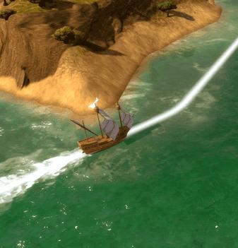 Detalle de un barco a máxima calidad.