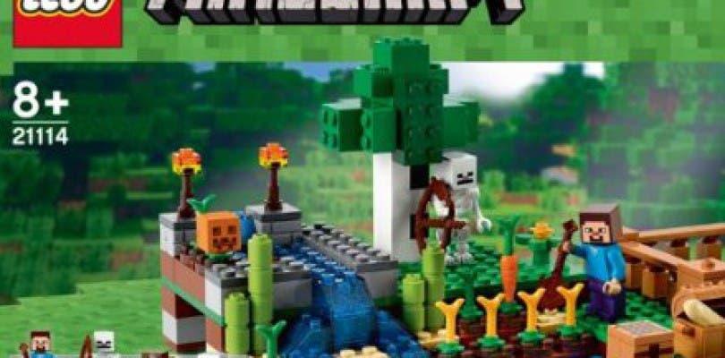 Se filtran productos Lego basados en Minecraft